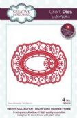Sue Wilson Craft Dies - Festive Collection - Snowflake Filigree Frame - CED3078